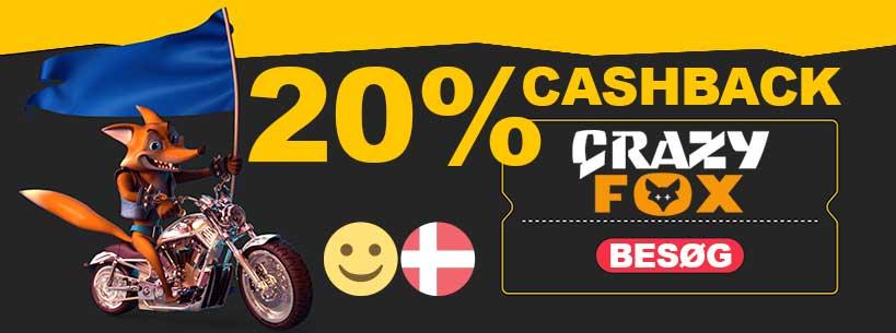 Crazy Fox: skattefri casino med Malta licens