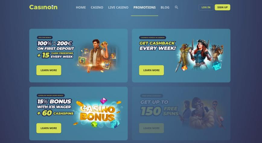 Casinoin velkomstbonus